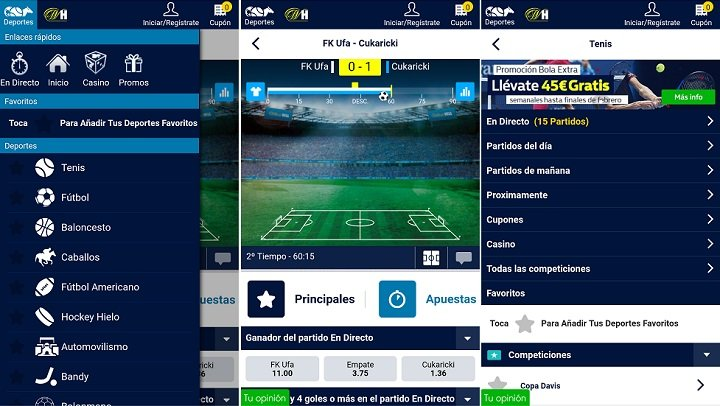 William Hill app para Android