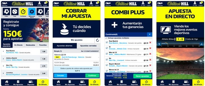 Descargar la iPhone app de William Hill fácil y rápido