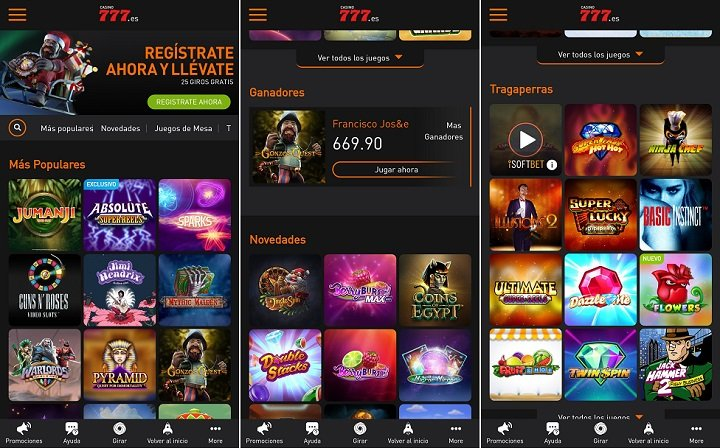 casino777 app para iPhone