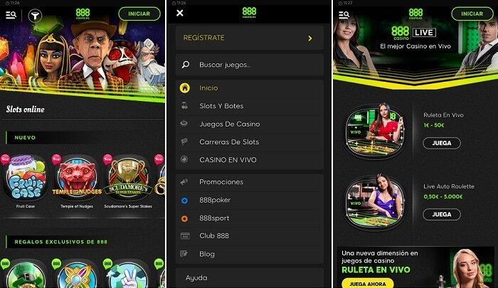Nueva aplicación móvil por 888