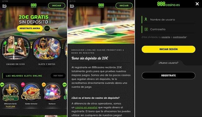nuevo casino móvil desde 888